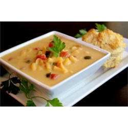 Spicy Mac and Cheese Soup Recipe