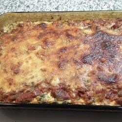 Spinach, Sausage and Cheese Bake Recipe