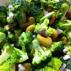 Broccoli Cashew Salad |
