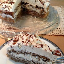 hungarian flourless hazelnut cake printer friendly