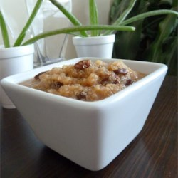 Quinoa Pudding