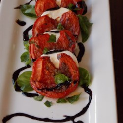 Roasted Tomato Caprese Salad Recipe