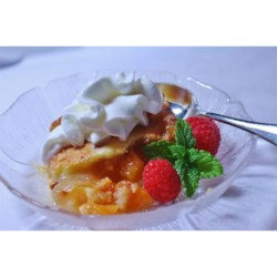 Sweet and Easy Peach Dessert