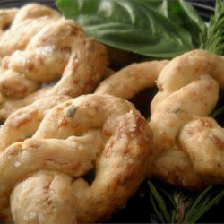 Herb Cheese Pretzels Recipe