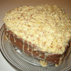 Moist German Chocolate Cake Recipe