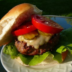 Backyard Cooper Burgers Recipe