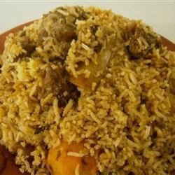 Kachchi Biryani cooked by mom.