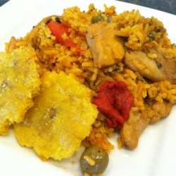 Josephine's Puerto Rican Chicken and Rice Recipe