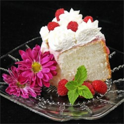 Homemade Angel Food Cake Recipe