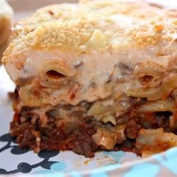 Greek Baked Macaroni (Pastitsio)