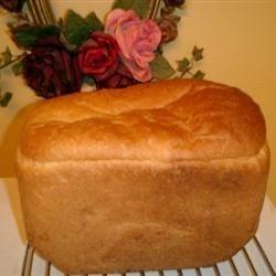 White Bread in Machine