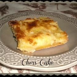 Chess Cake Recipe