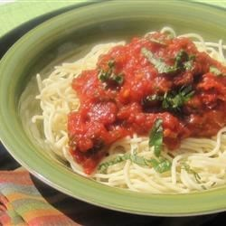 Seven Ingredient Tomato Sauce Recipe