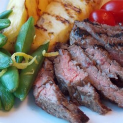 Miso-Glazed Skirt Steak Recipe