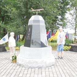 This is the beautiful monument in Shanksville, Pa