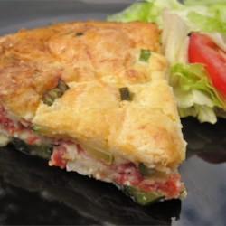 Easy Crustless Zucchini Quiche