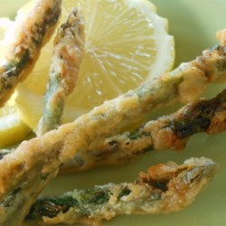 Fried Asparagus Sticks Recipe