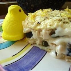 Lemony Chicken Lasagna