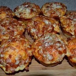 Photo of Mini Lunch Box Pizzas by madison_2502