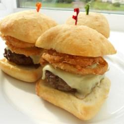 Mushroom-Swiss Burgers