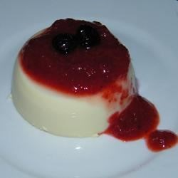 Panna Cotta With Fresh Strawberry Sauce Recipe