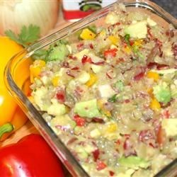 Grape and Avocado Salsa