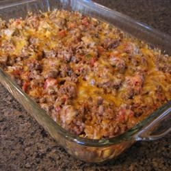 Taco Bake II Recipe