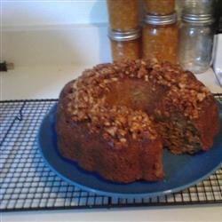 Zucchini Nut Cake Recipe