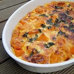 Scalloped Sweet Potatoes and Butternut Squash Recipe