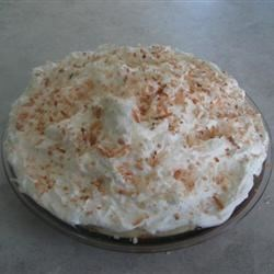 100% Homemade Coconut Cream Pie