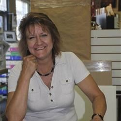 Cindy @ work