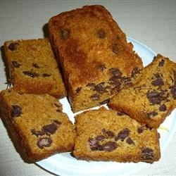 Chocolate Almond Pumpkin Bread Recipe