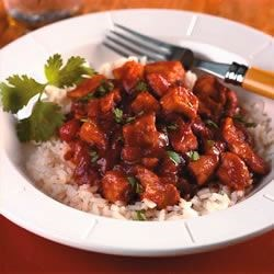 Peach Pork Picante Recipe