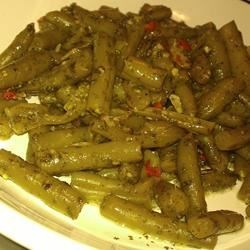 Chinese Peppered Green Beans Recipe