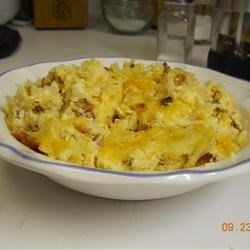 Cheesy Amish Breakfast Casserole Recipe