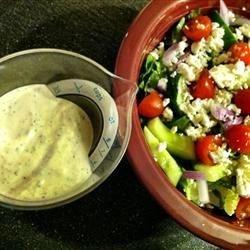 Creamy Greek Dressing Recipe