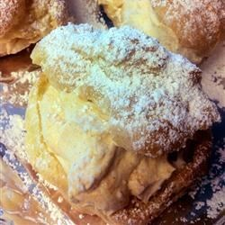 Pumpkin Cream Puffs Recipe