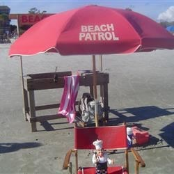 Honorary Beach Patrol for the day!!!!