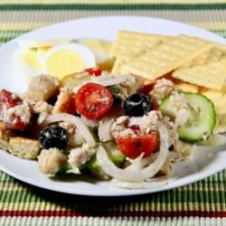 italian style tuna salad printer friendly