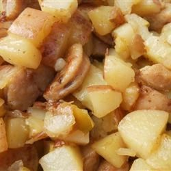 Photo of Sweet Breakfast Hash with Apple and Rosemary by SunnyDaysNora