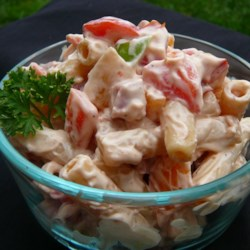 Awesome Ham Pasta Salad Recipe