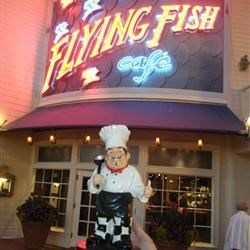 Flying Fish Cafe at Disney World's Boardwalk