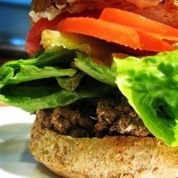 Burger w/o Green Pepper