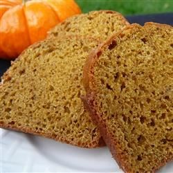 Pumpkin Spice Bread ~ Recipe Group Selection ~ 22, September 2012