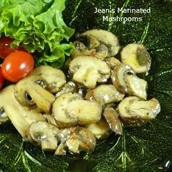 Jean's Marinated Mushrooms