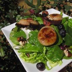 Sausage, Blueberry, Pecan Salad