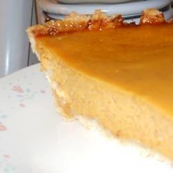 smooth butternut pie