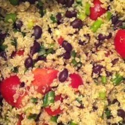 Zesty Quinoa Salad! Yum.