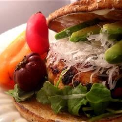 Turkey Mustard Burgers Recipe