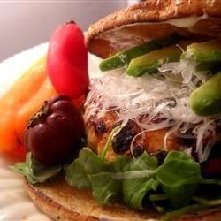 Turkey Mustard Burgers